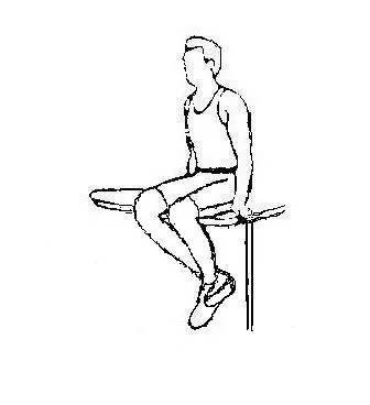 膝关节屈曲练习